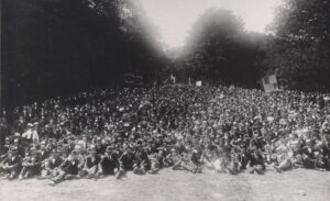 Massemøde i Ulvedalen 1899