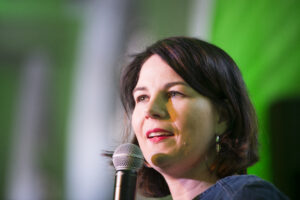 Kansler kandidat for De Grønne, Annalena Baerbock